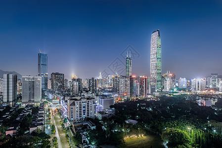 罗湖城市夜景图片