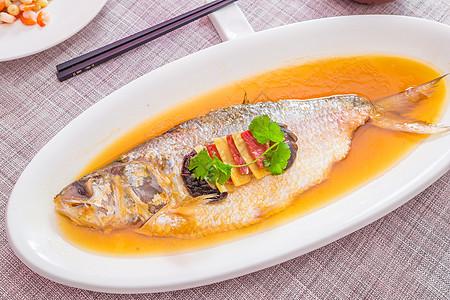 酒香蒸鲥鱼图片