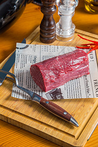 牛里脊肉图片