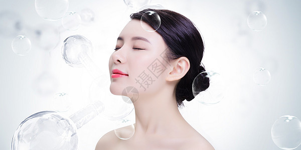 美容护理美女图片