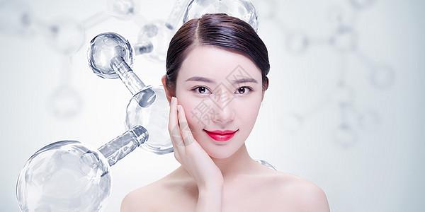 美容护理美女 图片