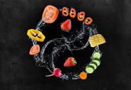 蔬菜瓜果创意图图片
