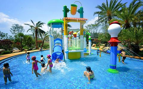 酒店儿童游泳池图片