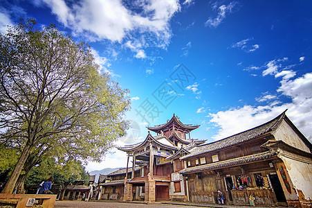 云南大理剑川沙溪古镇图片