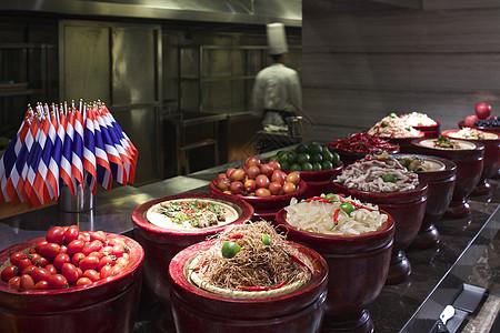 酒店自助餐图片