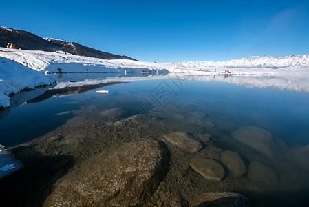 美丽的赛里木湖图片