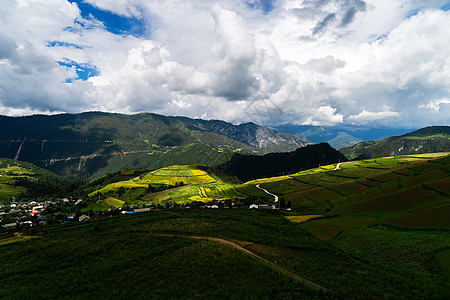 云南香格里拉美丽的风景图片