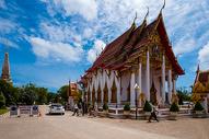 泰国普吉岛青龙寺风光图片