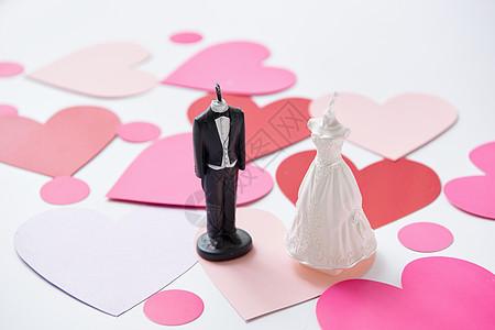 520婚礼情侣蜡烛静物图片