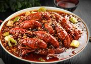 香辣龙虾图片
