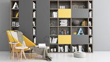 欧式书房空间室内图片
