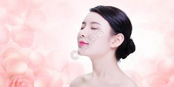 美容护理美女模特图片