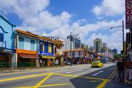 新加坡街景图片