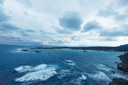 日本冲绳图片