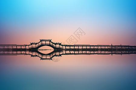 美丽的江南风光锦溪廊桥picture