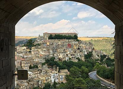 欧洲意大利古城景观图片
