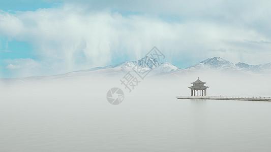 苏州金鸡湖美景图片