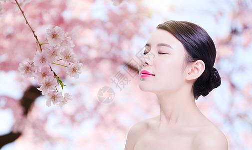美容美女海报图片