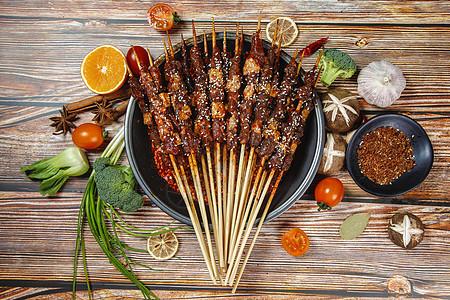 麻辣肉串图片