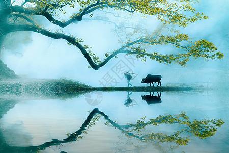 美丽的江南古镇风光图片