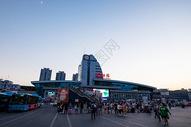 春运繁忙的贵阳火车站图片