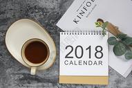 2018日历静物素材图片
