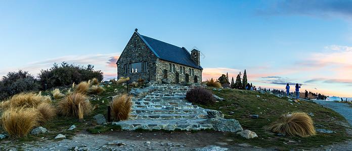 新西兰蒂卡波牧羊人教堂图片