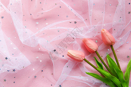 粉色静物图片