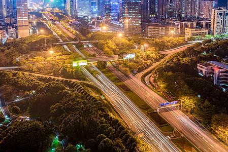 深圳深南大道夜景图片