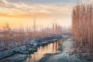 冬季早晨图片