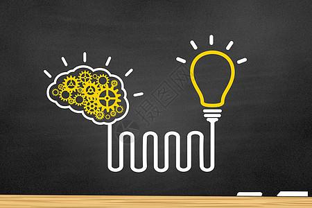 创意大脑教育图片