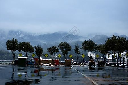 下雪的安徽农村图片