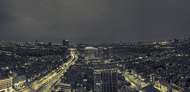 钱江新城城市建筑夜景图片