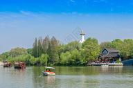 江苏扬州瘦西湖风光图片