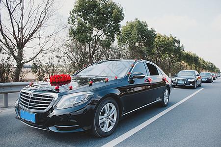 婚礼车队图图片