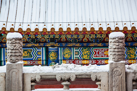 北京故宫雪景picture