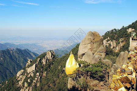 四大佛山之一的九华山图片