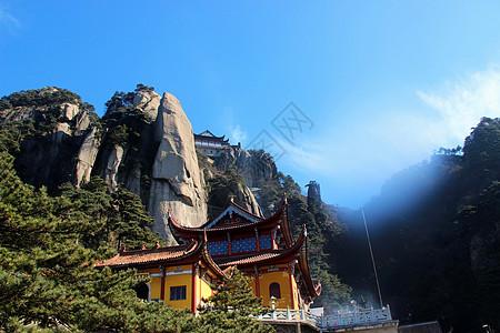 九华山的天台峰图片