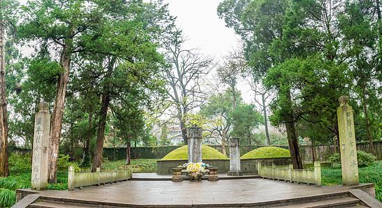 杭州岳王庙岳飞墓图片