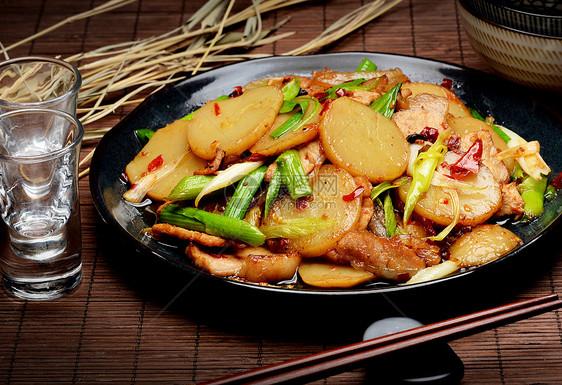 炒土豆片图片