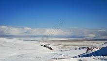 雪后的纳木错图片