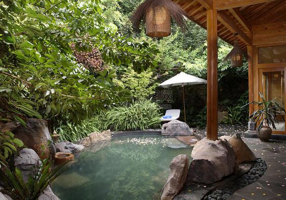 水疗温泉度假图片