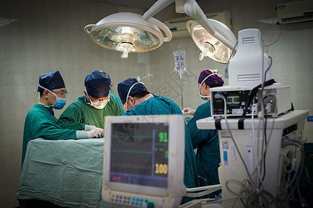 手术室手术中图片