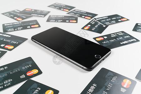 手机信用卡摆拍图片