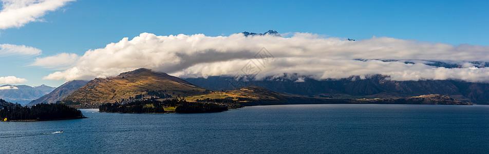 新西兰皇后镇瓦卡蒂普湖 图片