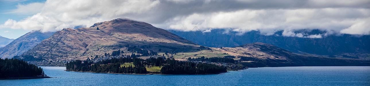 新西兰皇后镇瓦卡蒂普湖图片
