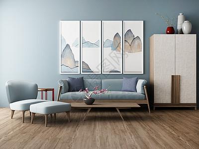 北欧简约室内家居图片