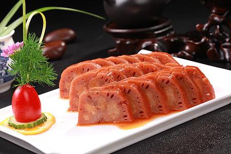 桂花糯米藕 图片