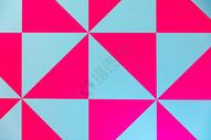几何撞色背景素材图片