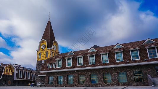 内蒙古阿尔山车站图片